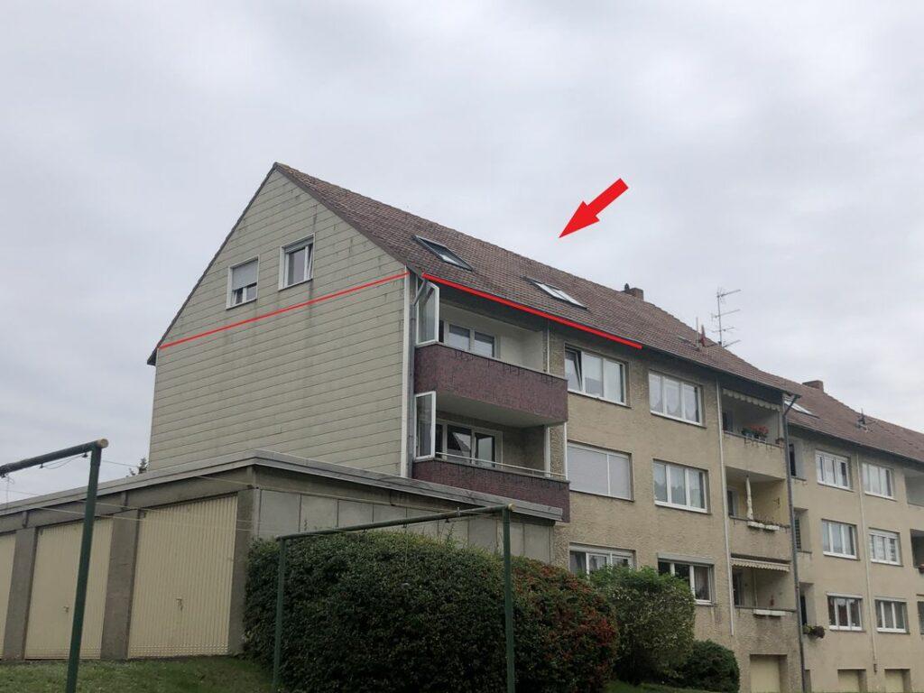 Dachgeschosswohnung im Elzwegviertel